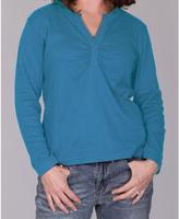 Dickies Ladies Split 'V' Long Sleeve Top
