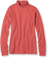 L.L. Bean Bean's Interlock Mock-Turtleneck