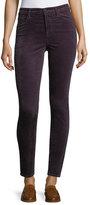 J Brand Jeans Maria High-Rise Velvet Skinny Pants