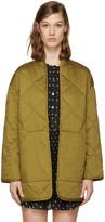 Etoile Isabel Marant Reversible Black Daca Quilted Jacket