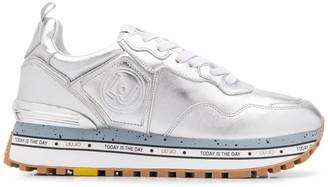 Liu Jo Maxi Alexa metallic sneakers
