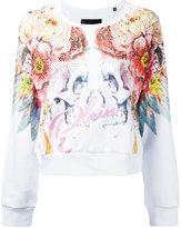 Philipp Plein Felpa Feathers sweatshirt - women - Cotton - S