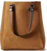 Filson 'Rugged' Suede Tote Bag