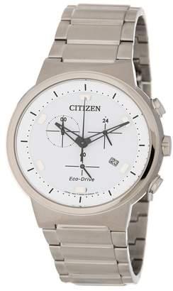 Citizen Men's Brycen Eco-Drive Chronograph Watch, 41mm