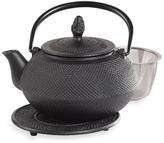 Bed Bath & Beyond Infuse 16-Ounce Asian Cast Iron Tea Pot with Trivet