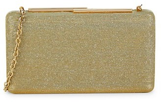La Regale Convertible Glitter Clutch