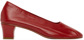 Martiniano Red High Glove Heel