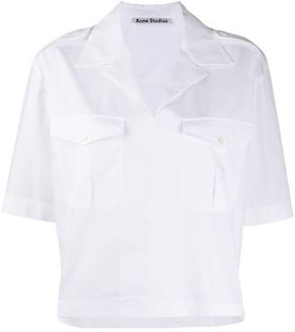 Acne Studios Boxy-Fit Safari Shirt
