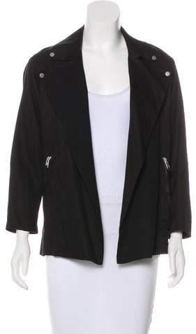 AllSaints Long Sleeve Collar Jacket