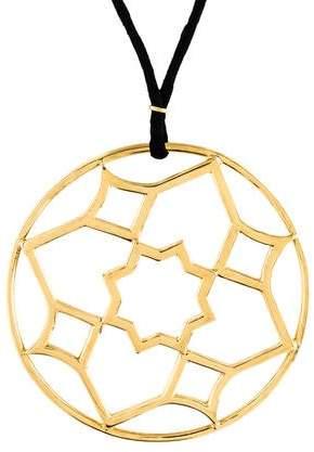 Tiffany & Co. Zellige Medallion Pendant Necklace