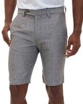 Robert Graham Prundale Dress Shorts, Gray