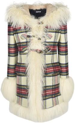 Miu Miu Panno Tartan Coat