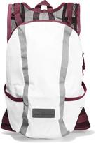 adidas by Stella McCartney Mesh-paneled Shell Backpack - White