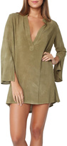 Blue Life Olive Shirt Dress