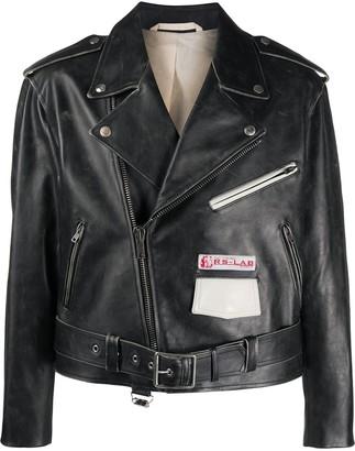 Raf Simons Leather Biker Jacket