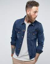Nudie Jeans Co Billy Denim Jacket Deep Indigo Wash