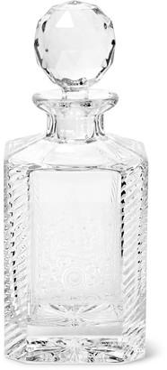 Purdey - Gun Scroll Engraved Crystal Decanter - Men