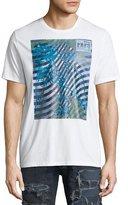 PRPS Wave Graphic Print Logo T-Shirt