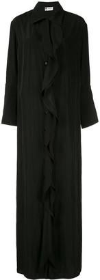 Lanvin ruffled shirt dress