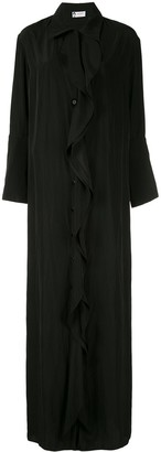 Lanvin Ruffled Shirt Dress