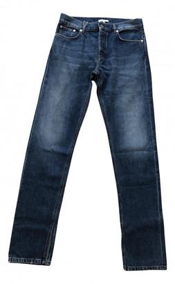 Ganni Blue Cotton Jeans