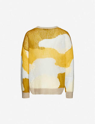 Stine Goya Sana patchwork knitted jumper