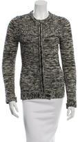 Etoile Isabel Marant Patterned Zip-Up Sweater