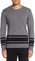 Michael Stars Men's Stripe Wool Blend Sweater