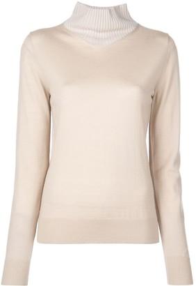 Rosetta Getty Layered Style Sweater