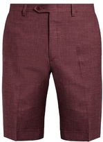 Brioni Wool-blend Slim-fit Shorts
