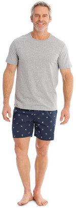 Reserve Tee & Poplin Short Set - Palms