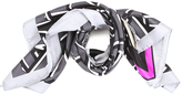 Kenzo Women's Logo Barre Scarf Anthracite