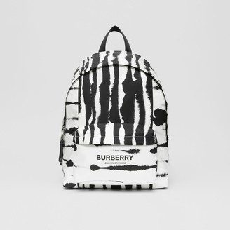 Burberry Watercolour Print ECONYL Backpack