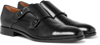 HUGO BOSS Stamford Leather Monk-Strap Shoes