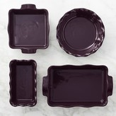 Emile Henry Essential 4-Piece Ruffled Bakeware Set
