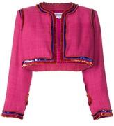 Saint Laurent Pre Owned sequin-embellished bolero