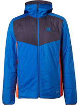 Salomon - Drifter Reversible Quilted Ripstop And Jersey Ski Jacket