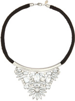 Noir Crystal Bib Necklace