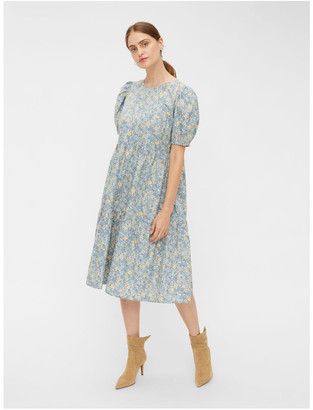 Y.A.S Oria Floral Dress Blue
