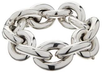 Bottega Veneta Cable-chain Metal Bracelet - Silver