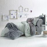 Glam Script Reversible Comforter Set
