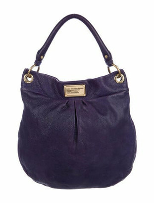 Marc by Marc Jacobs Classic Q Hillier Hobo Purple