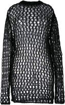 McQ perforated jumper