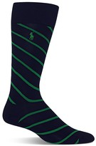 Polo Ralph Lauren Cotton Blend Rep Stripe Dress Socks