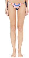 Mara Hoffman Women's Starburst String Bikini Bottom-NAVY, PINK