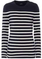 Joseph Striped wool-blend sweater