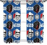 Star Wars character world 54-Inch Episode 7 Awaken Curtains, Multi-Colour