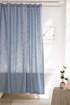Urban Outfitters Calypso Chambray Shower Curtain