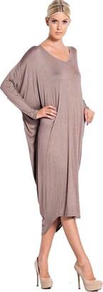 ZET New Womens Ladies Plus Size Long Baggy Cocktail Backless Summer Midi Dress UK 8-26 (XL (16-18 UK)