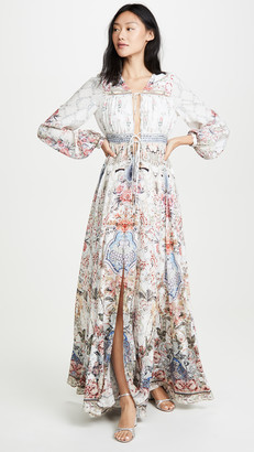 Camilla Peasant Dress